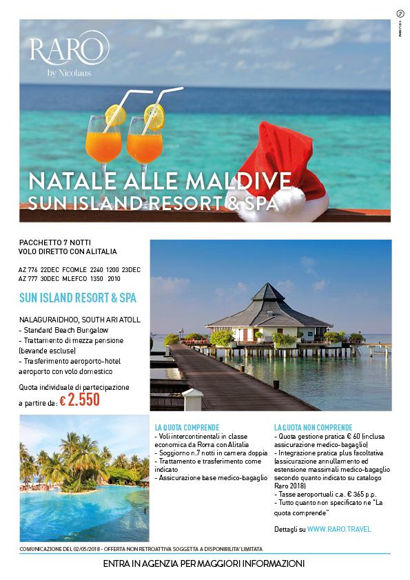 Natale alle Maldive - Agent For You, i tuoi Broker di viaggio